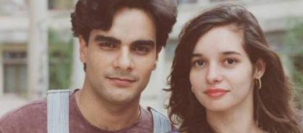 """Guilherme de Pádua e Daniella Perez interpretaram par romântico na novela """"De Corpo e Alma"""". Foto: Reprodução."""