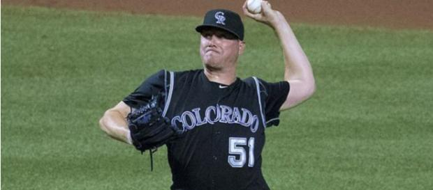 Jake McGee will remain with the Rockies after agreeing to re-sign with the team. - [Flickr | Keith Allison]