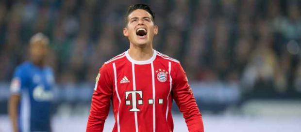 James Rodríguez Bayern Munich Alemania
