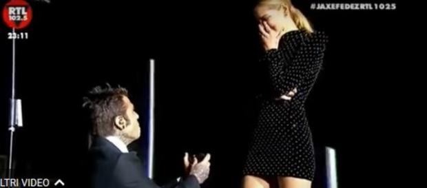 La proposta di matrimonio di Fedez a Chiara Ferragni