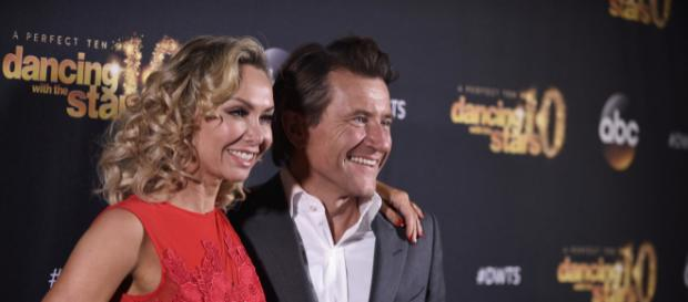 Robert Herjavec and Kym Johnson first met on 'DWTS,' and now they're expecting twins. -- image courtesy of ABCNews via Flikr.