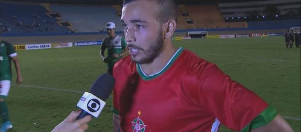 Rodolfo - jogador do Boa Esporte. (Foto Reprodução).