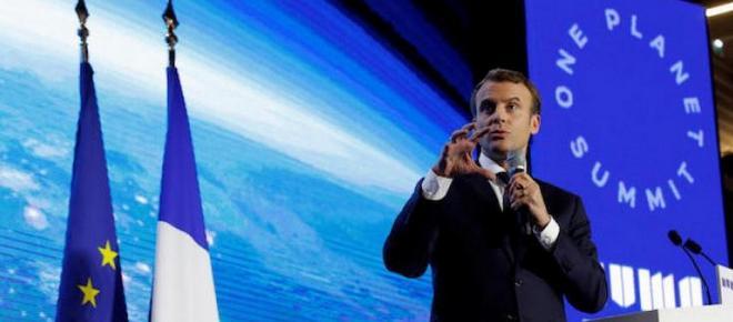 Climat : La bataille « en train d'être perdue » selon Macron