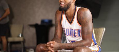 Newly Acquired Thunder Star Paul George Arrives In Oklahoma City ... - kosu.org