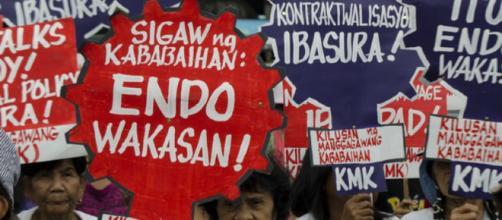 Se estima que hay 1.3 millones de empleados por contrato en Filipinas.