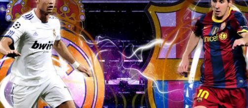 Barcellona-Real Madrid: Messi vs Cristiano Ronaldo