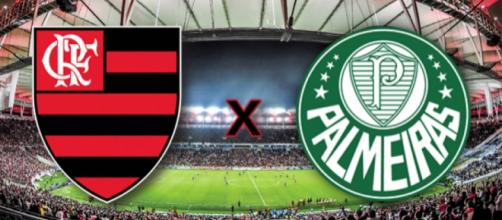 Diretorias de Flamengo e Palmeiras trabalham por reforços.