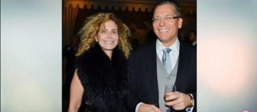 Dr. Dean Lorich (left) with his wife, Deborah. (Image Credit CELEBRITY NEWS/YouTube screencap)