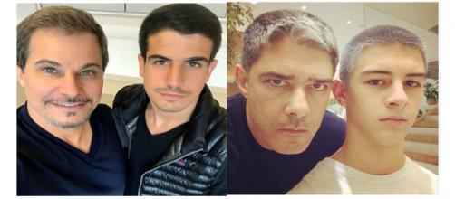 Eles são muito parecidos com seus pais famosos