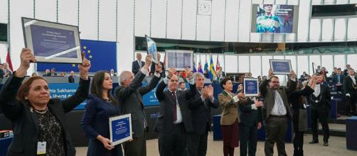 Galardonados con el Premio Sárajov a la Libertad de Conciencia