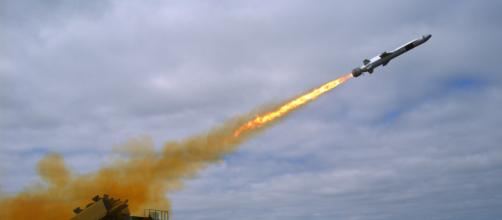 Image of a missile launch by Mass Communication Specialist 2nd Class Zachary D. Bell [via Wikimedia]