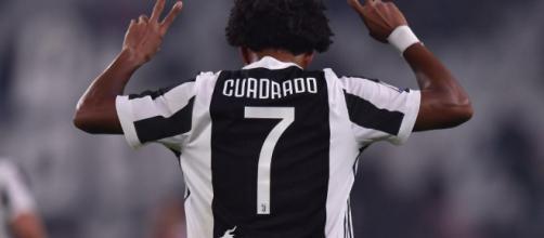 Juventus, Cuadrado ha lavorato a parte