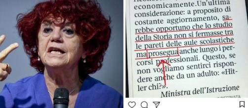 L'errore grammaticale della Ministra dell' istruzione Valeria Fedeli