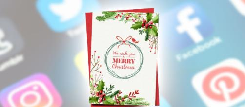 Traditional Christmas cards have dwindled but some people still send them. Image Credit: Blasting News