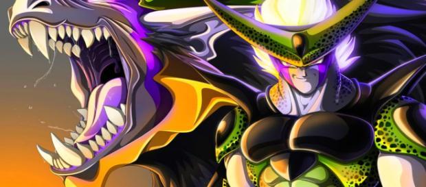La aparición de Cell en el manga de Dragon Ball Super.