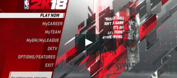NBA2K18 is the newest edition to basketball's favorite franchise [Image via Vimeo]