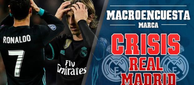 Crisis futbolistica en el Real Madrid