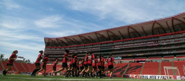 Xoloitzcuintles de Tijuana se prepara para el Clausura 2018 de la Liga MX Femenil. FOTO: Club Tijuana