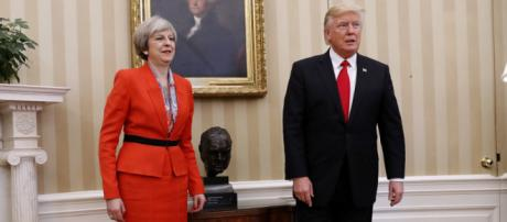 In Meeting With Trump, U.K. Prime Minister Pushes For Future Trade ... - npr.org