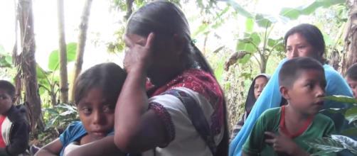 Al menos 5 mil indígenas Tzotziles duermen a la intemperie, despojados de sus tierras y con los caminos bloqueados por paramilitares