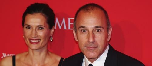 Annette Rogue and Matt Lauer are currently not wearing their wedding rings. Image credit: David Shankbone | Wikimedia Commons