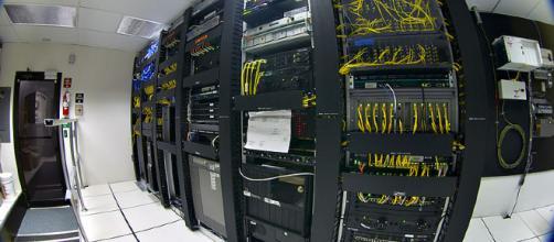 Data center. Image credit: Gregory Maxwell via Wikimedia