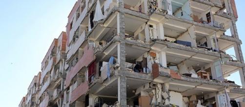 Edificio dañado por uno de los peores terremotos de 2017