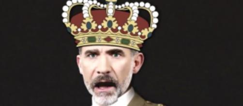 Felipe VI en la campaña electoral de la CUP