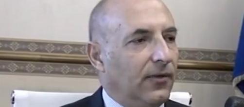 Giovanni Signer, questore di Caltanissetta