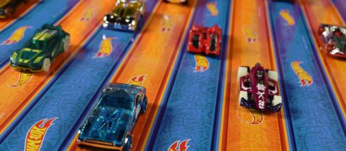 Hot Wheels is the best-known brand of toy cars and they use PlayTape for many of their toys. / Image via InRoad Toys, used with permission.