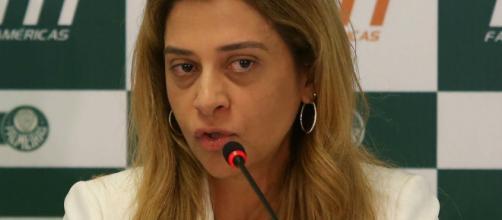 Leila Pereira é a patrocinadora do clube