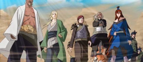 ninjas que pueden acabar con los kages