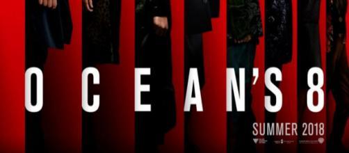 """""""Todo contra tem seus prós"""" cartaz do filme Ocean's 8"""