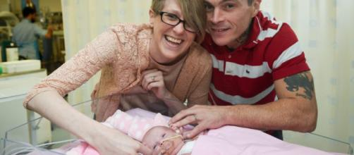 Miracle baby Vanellope survives after being born with heart ... - inews.co.uk