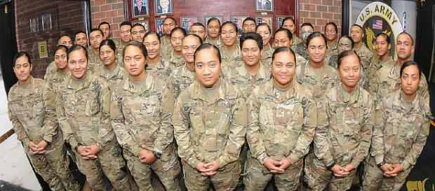 41 members of Samoan family enlisted in Army at same time [Photo Credit: T. Anthony Bell/army.mil]