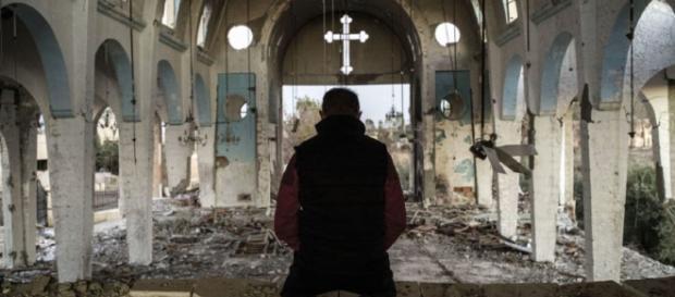 Igrejas cristãs são reconstruídas no Iraque.