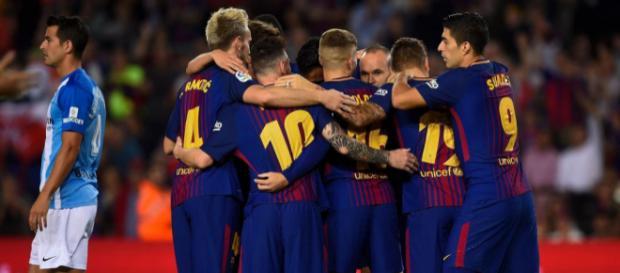 Le Barça bat Malaga (2-0) et reprend ses distances en tête - Liga ... - eurosport.fr