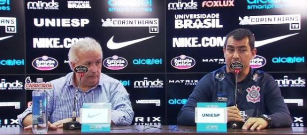 Mesmo com desavenças, Corinthians quer definir situação de jogador. (Foto Reprodução).