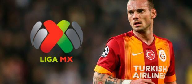 Sneijder podría estar llegando a la liga Mx