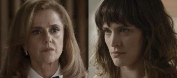 Sophia e Clara em cena de 'O Outro Lado do Paraíso' (Foto: TV Globo)