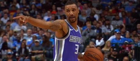 Sacramento Kings playmaker George Hill will likely be a hot topic in NBA trade rumors -- Sacramento Kings via YouTube