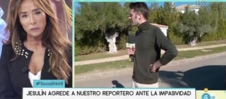 Un reportero de Telecinco denuncia una agresión de Jesulín.