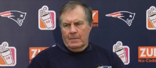 Bill Belichick praises Le'Veon Bell and Antonio Brown. [Image Credit: J&N Highlights / YouTube screencap]