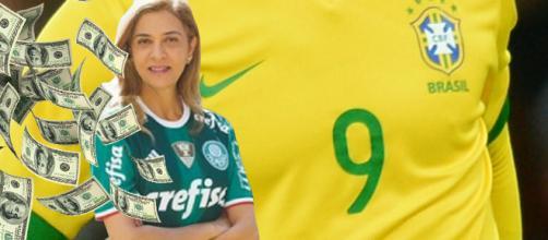 Leila Pereira é a patrocinadora do Verdão