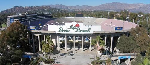 The winner of the 2018 Rose Bowl will play for a national championship. [Image via The Sports Hub/YouTube]