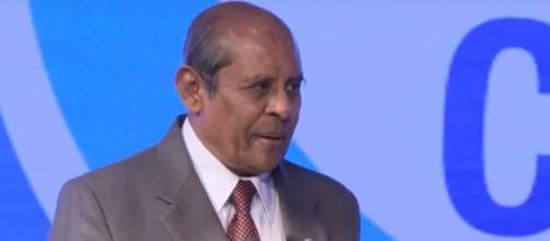 Tilak Janak Marapana, ministro degli Affari esteri dello Sri Lanka