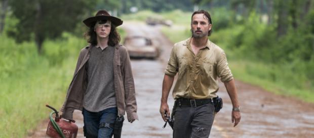 """A série """"The Walking Dead"""" fez uma pausa em sua oitava temporada."""