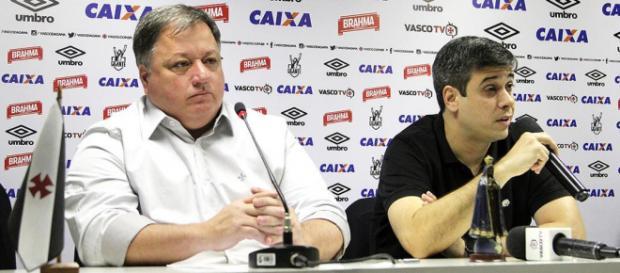 Diretor de Futebol e vice-presidente do Vasco