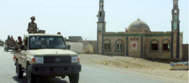 Los combatientes yemeníes leales al presidente yemení, respaldado por Arabia Saudita.