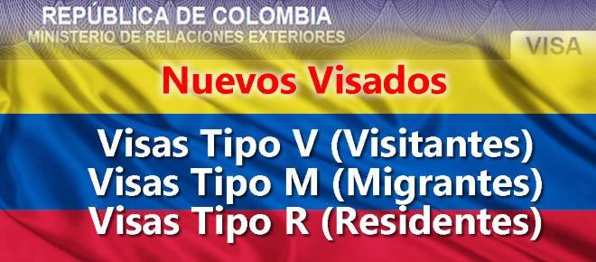 Colombia cambia su resolución y ahora tiene 3 tipos de visa para extranjeros